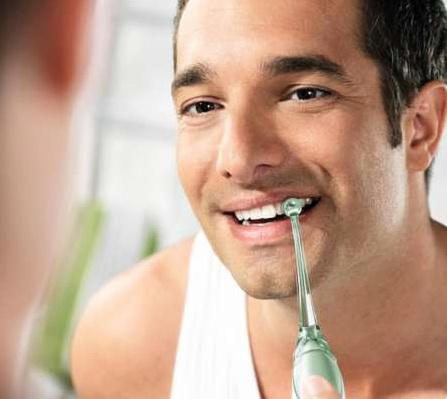 использование ирригатора полости рта