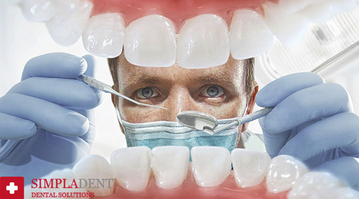 подпиливание передних зубов